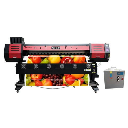 1.8m High Resolution Outdoor Indoor UV Printer for Photo Paper