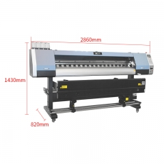 1.8m Large Format Outdoor Indoor Eco Solvent Printer for Reflective Film